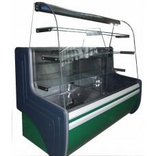 Витрина холодильная кондитерская ВХК Орбита 1,2 Д выгнутое стекло