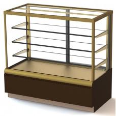 Витрина холодильная кондитерская ВХСв-0,6д Carboma Cube