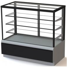 Витрина холодильная кондитерская ВХСв-0,6д Carboma Cube ТЕХНО