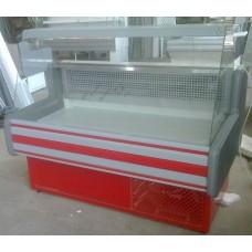 Витрина холодильная среднетемпературная ВХСК Компакт 1,2 прямое стекло