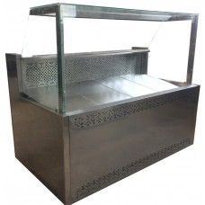 Витрина холодильная среднетемпературная ВХСК Пальмира Куб 1,2 Айстермо