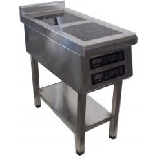 Плита индукционная Tehma 2KP-2,2-800