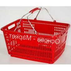 Корзина для супермаркетов 30 л