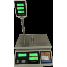 Весы торговые Днепровес ВТД-ЕД-ЖК 3 кг