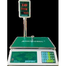 Весы торговые Днепровес ВТД-ЛД 6 кг