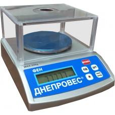 Весы лабораторные (ювелирные) Днепровес ФЕН-300 Л